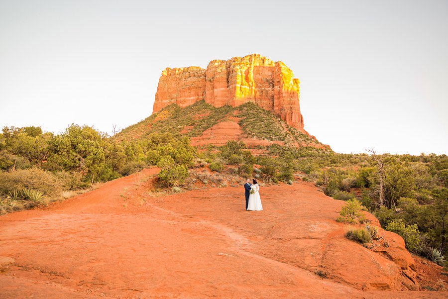 Northern AZ Elopement Photography Mountain Nature Couple - Claire and Terrence