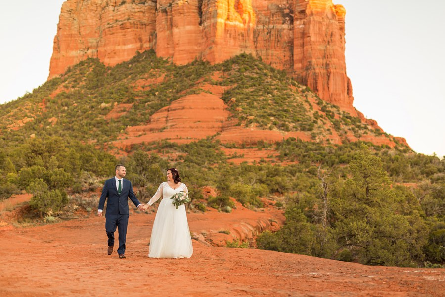 Sedona Arizona Elopement Photographers Love Romance - Claire and Terrence
