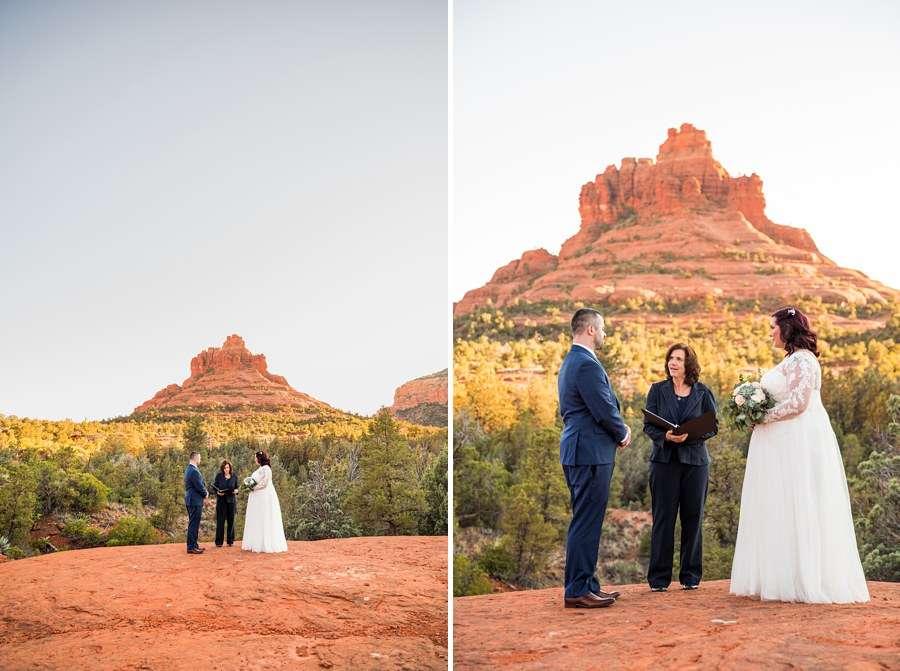 Claire and Terrence - Sedona Arizona Elopement Photographers Outdoors Nature Love