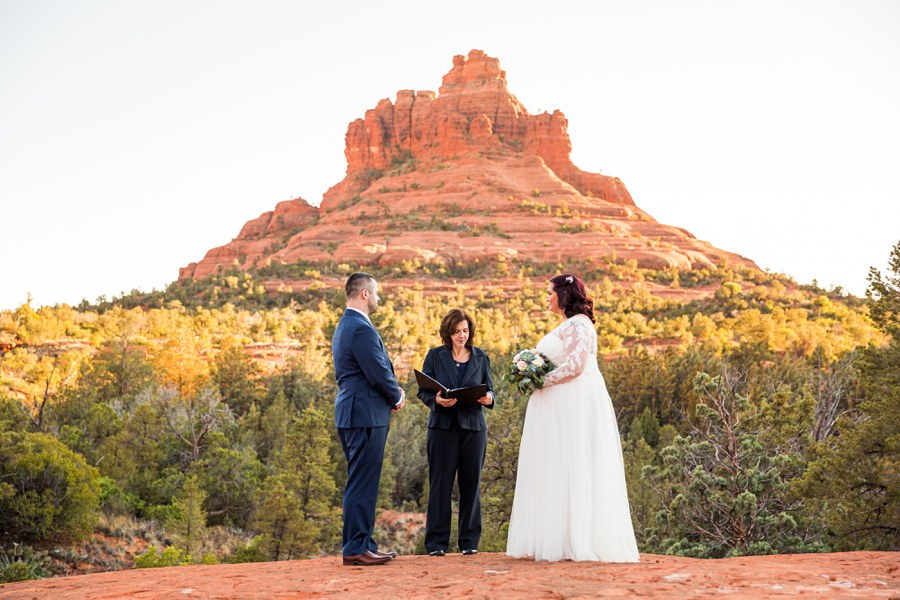 Northern AZ Elopement Photography mountain - Claire and Terrence
