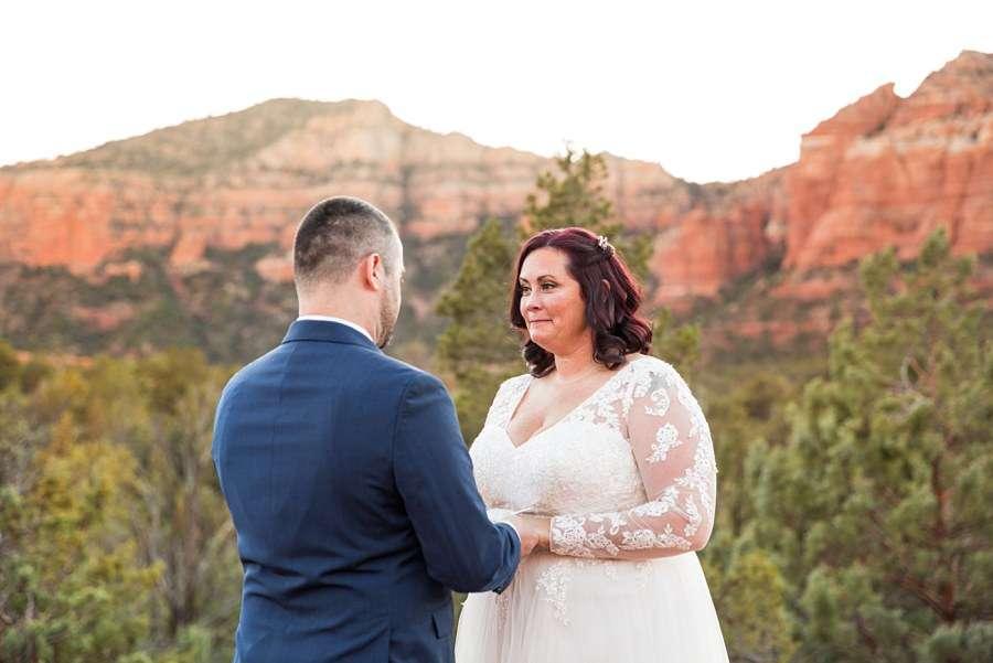 Claire and Terrence - Sedona Arizona Elopement Photographers Outdoors