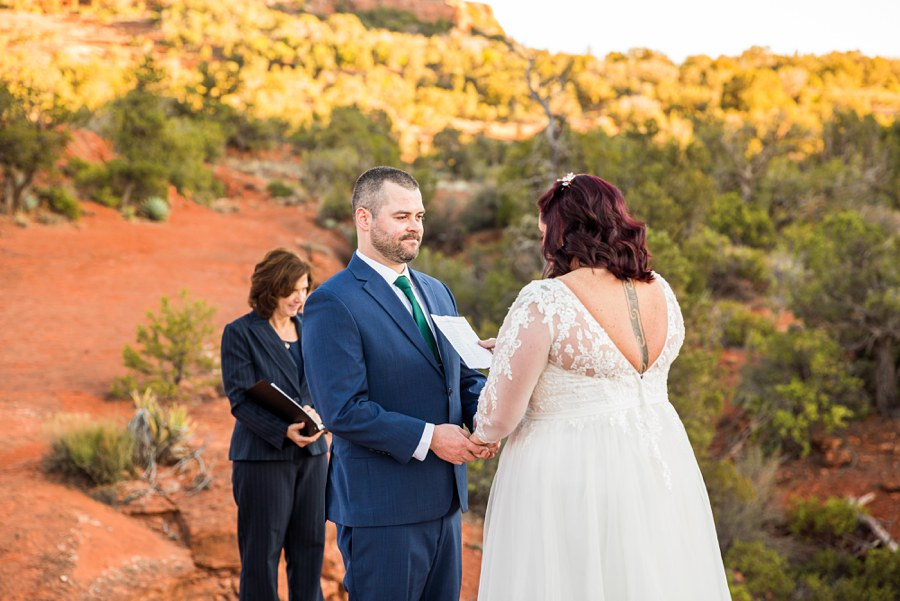 Northern AZ Wedding Photography - Claire and Terrence