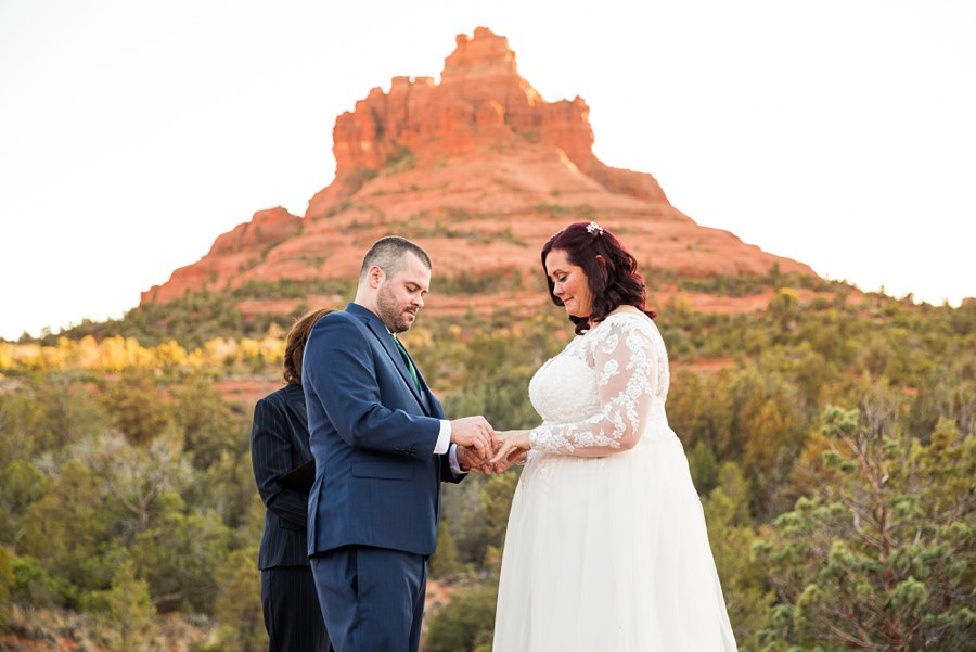 mountain Northern AZ Wedding Photography - Claire and Terrence
