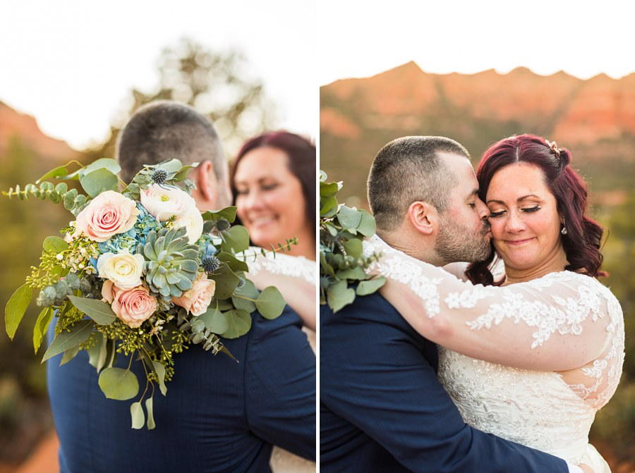 flower bouqet Northern AZ Wedding Photography - Claire and Terrence