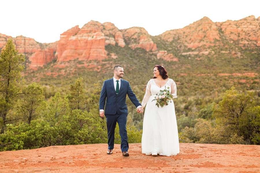 Sedona Arizona Elopement Photographers: Claire and Terrence