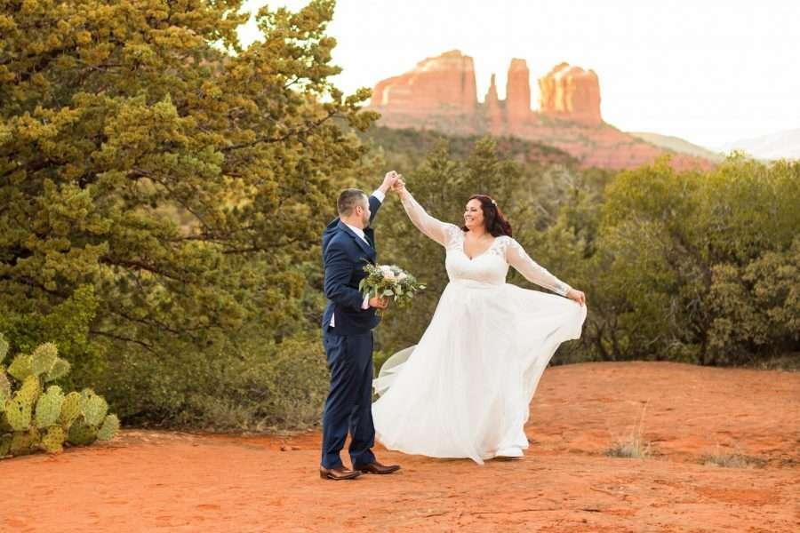 Sedona Arizona Elopement Photographers: Claire and Terrence Testimonials for Best Sedona Photographer