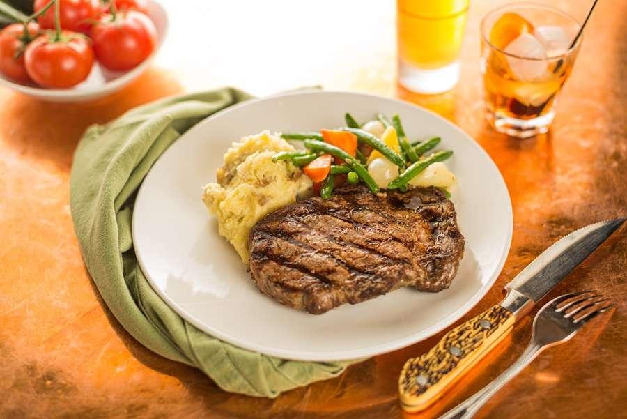 Northern Arizona Food Photography Meat Steak Tomatoes
