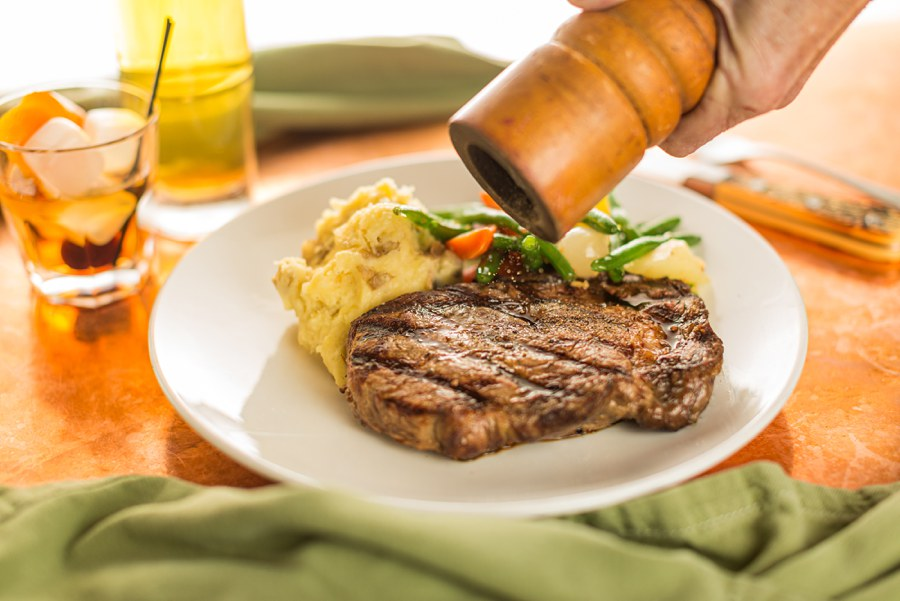 Meat Salt Pepper Northern Arizona Food Photography