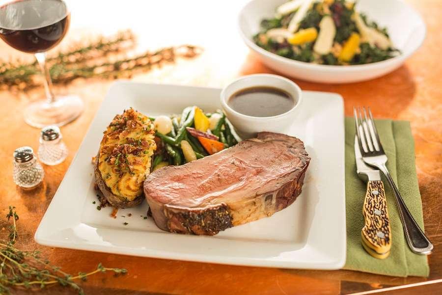 Northern Arizona Food Photography Meat Diner Veggies