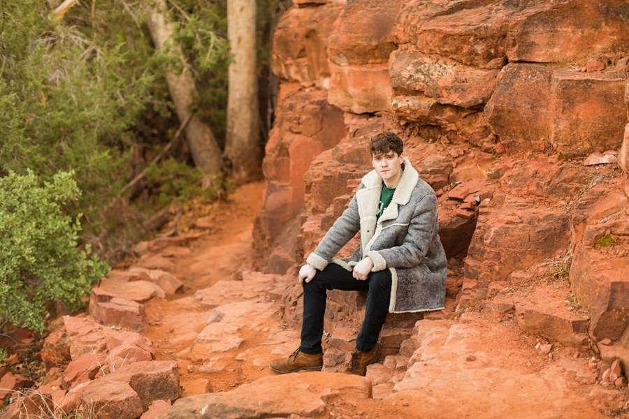 Red Rocks Northern Arizona Individual Photography Session