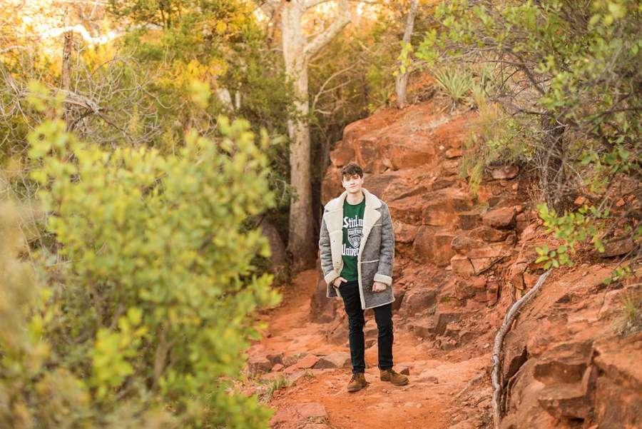 Nature man Northern Arizona Individual Photography Session