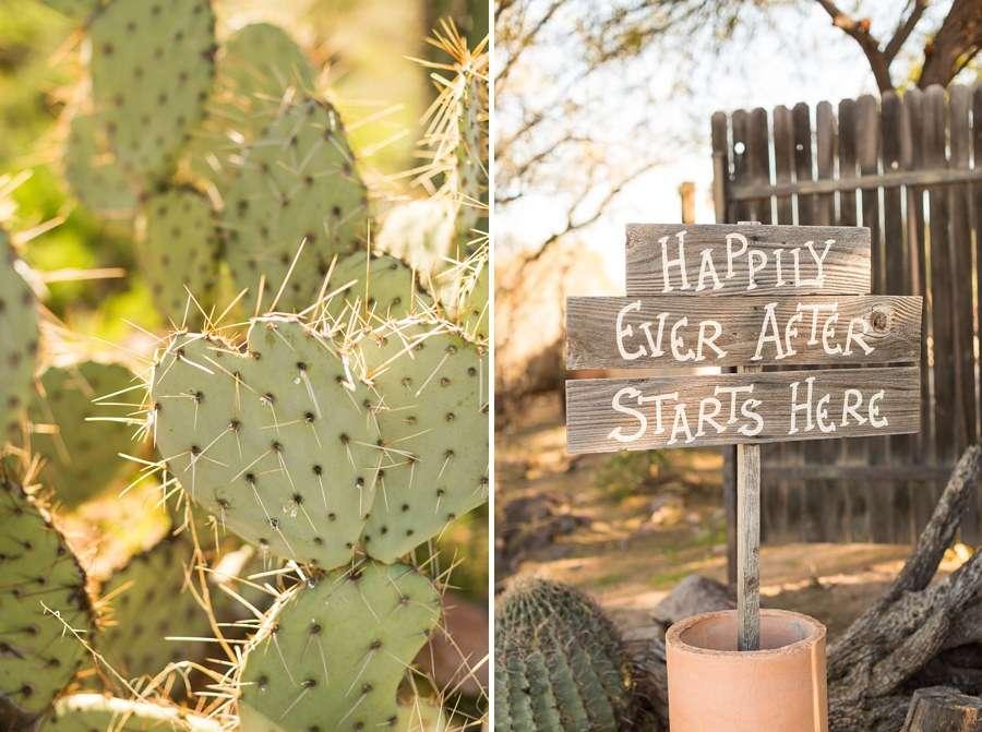Jessie and Aaron: Stardance Tucson Wedding signs
