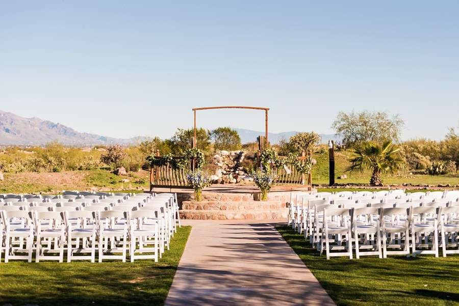 Jessie and Aaron: Stardance Tucson Wedding ceremony site