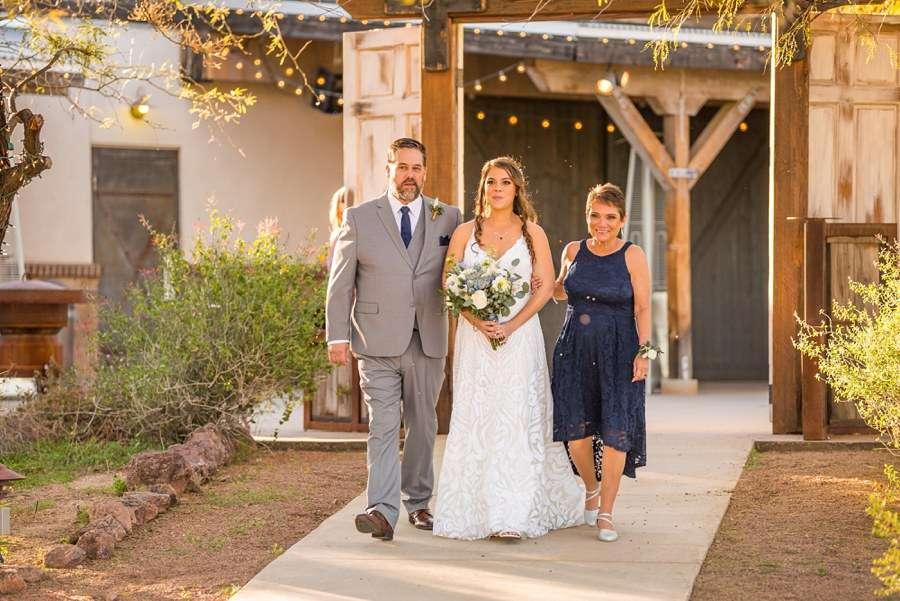 Jessie and Aaron: Arizona Desert Elopement Photography mom and dad