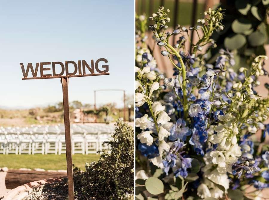 Jessie and Aaron: Stardance Tucson Wedding flowers