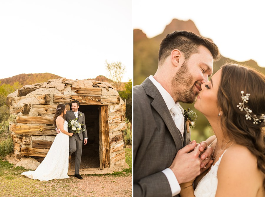 Jessie and Aaron: Arizona Desert Elopement Photography honeymoon