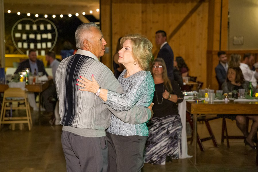 Jessie and Aaron: Arizona Desert Elopement Photography dancing