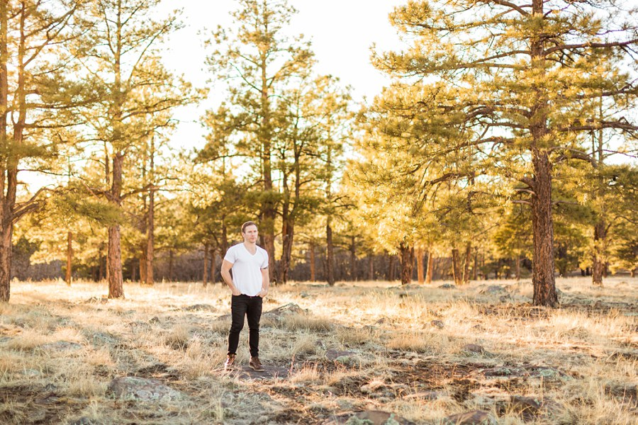 Personal Brand Photography Flagstaff Man Trees