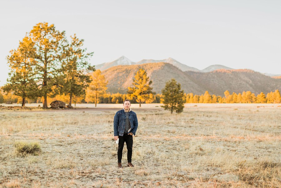 Personal Brand Photography Flagstaff Man Outdoors Tree