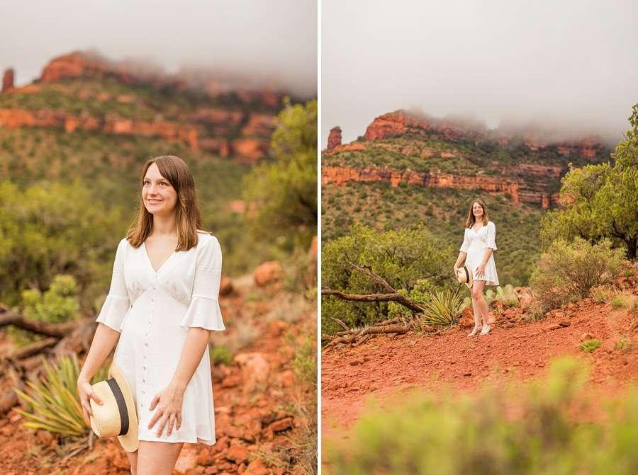 Grace: Senior Portrait Photographer Sedona AZ young woman