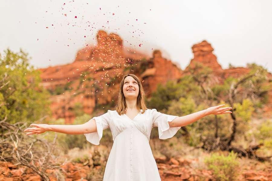 Grace: Red Rocks Arizona Photography celebrate