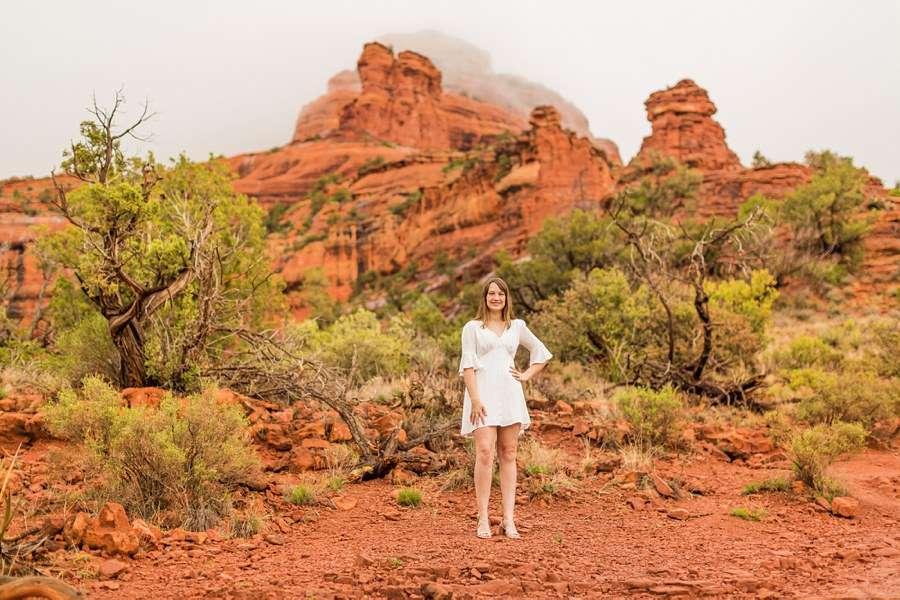 Grace: Red Rocks Arizona Photography