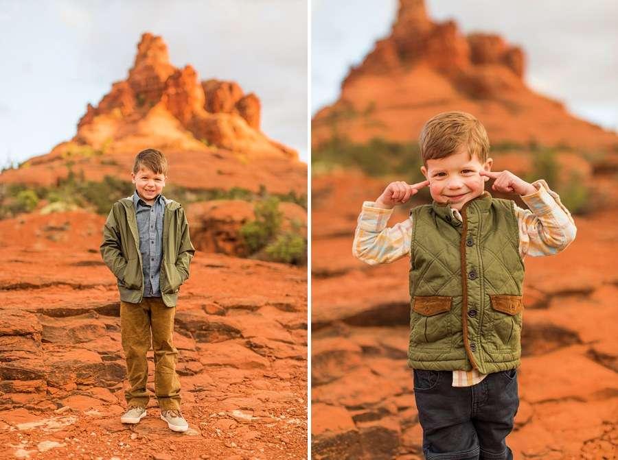 Hartman Family: Sedona Arizona Family Photography boys