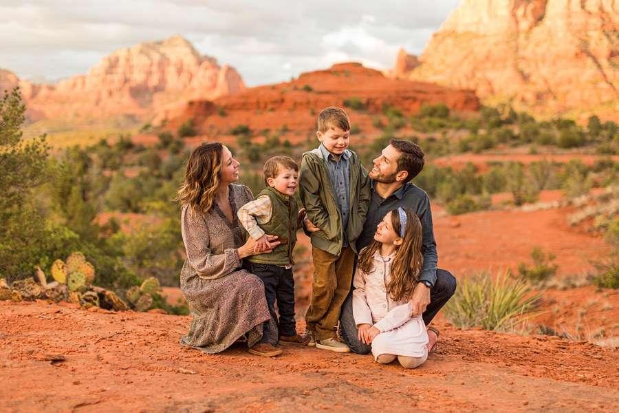 Hartman Family: Sedona Arizona Family Photography love