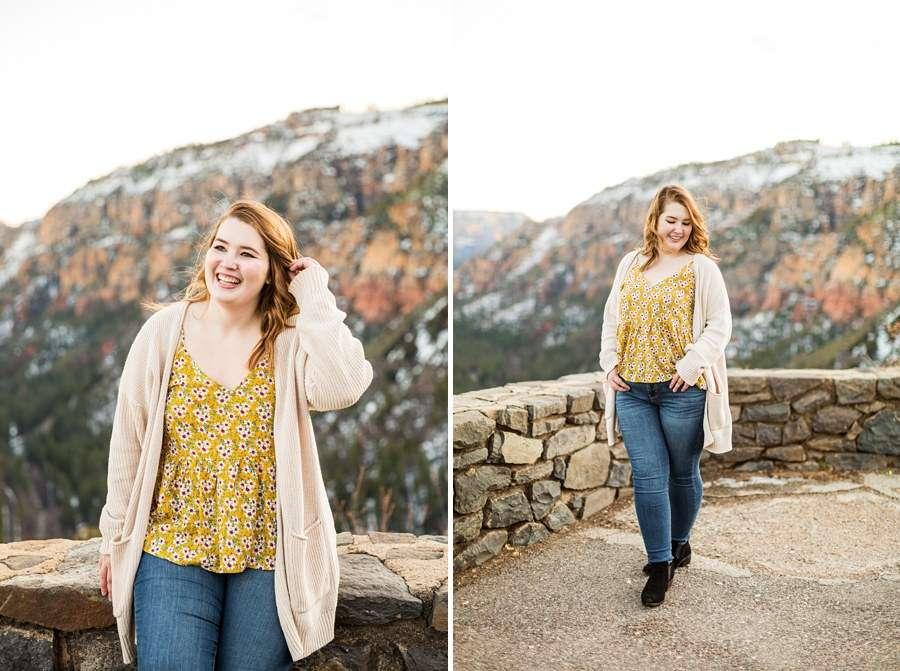Shelby: Northern Arizona University Session Photography sedona