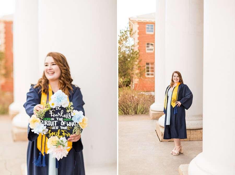 Shelby: Northern Arizona University Session Photography grad