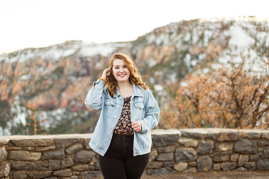 Shelby: Northern Arizona University Session Photography az