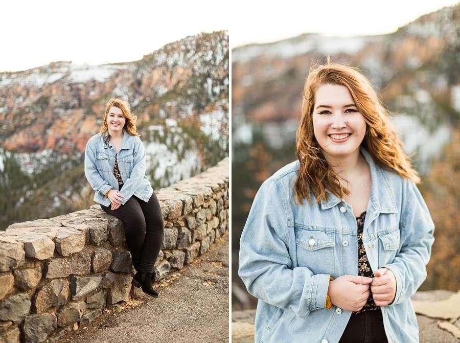 Shelby: Flagstaff NAU Senior Portrait Photographers smiles