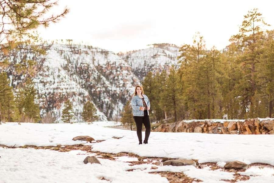 Shelby: Northern Arizona University Session Photography oak ckreek