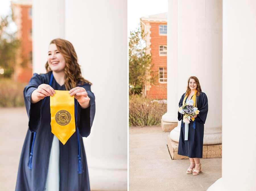 Shelby: Flagstaff NAU Senior Portrait Photographers campus