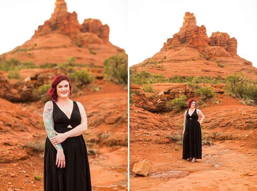 Shelby and Ana: Red Rocks Arizona Portraits girl