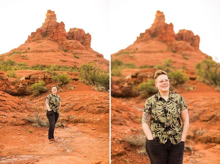 Shelby and Ana: Red Rocks Arizona Portraits ana