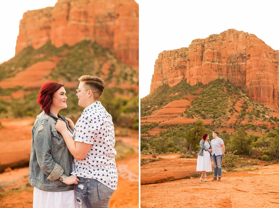Shelby and Ana: Red Rocks Arizona Portraits explore