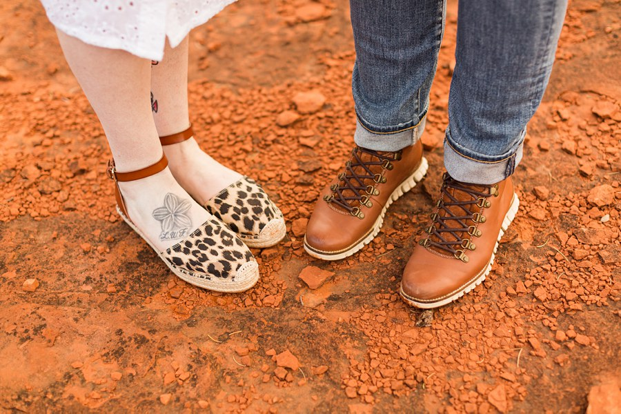Shelby and Ana: Red Rocks Arizona Portraits shoes