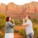 Red Rocks Arizona Portrait: Shelby and Ana
