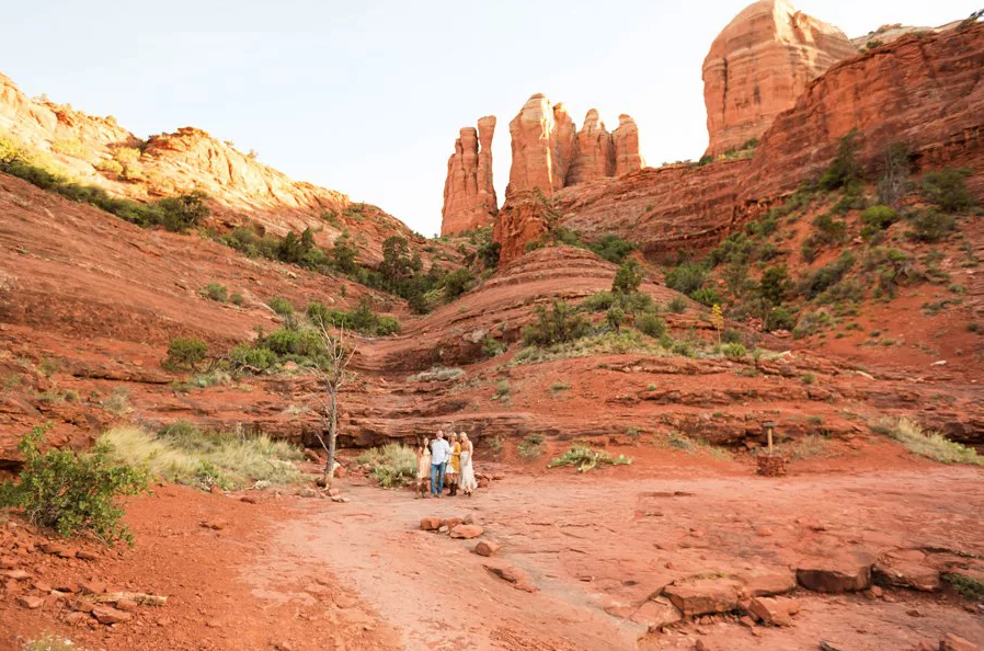 Best Season to Visit Sedona Arizona: Saaty Photography Cathedral Rock
