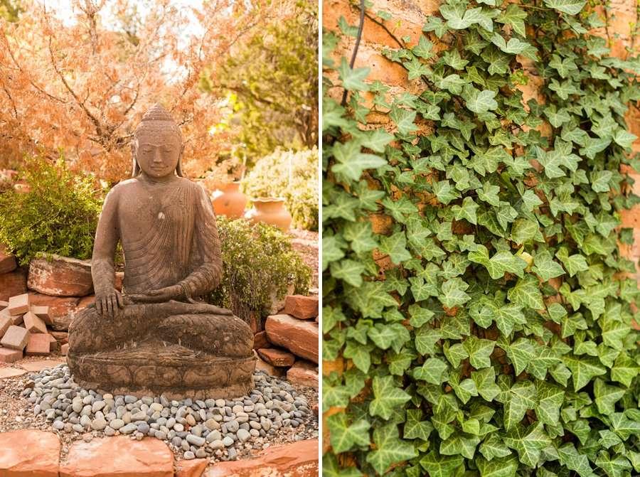 Holly and Erick - Sedona Arizona Elopement Photography - Zen Details