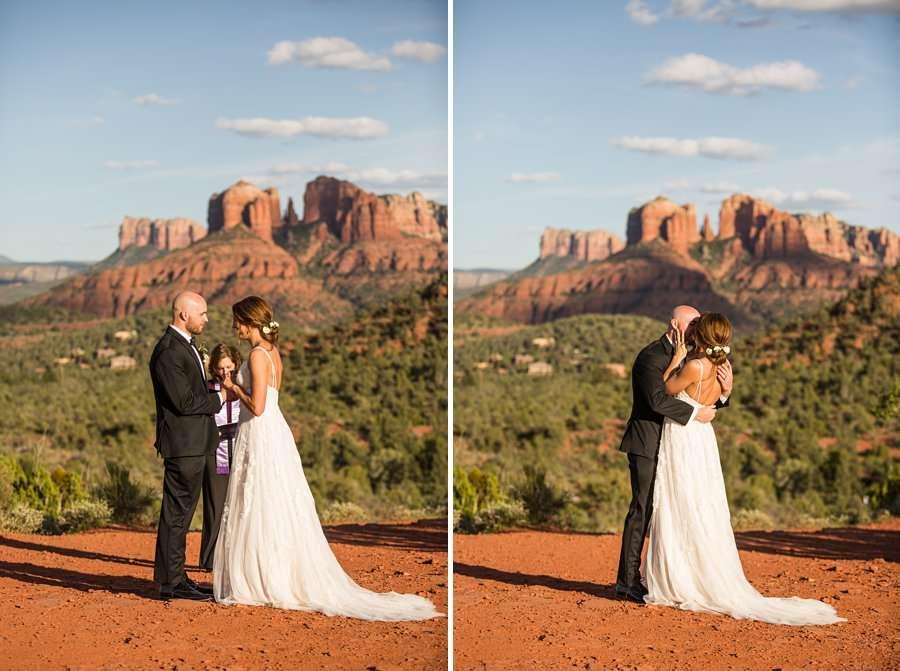 Holly and Erick - AZ Wedding Photographer Sedona - Love