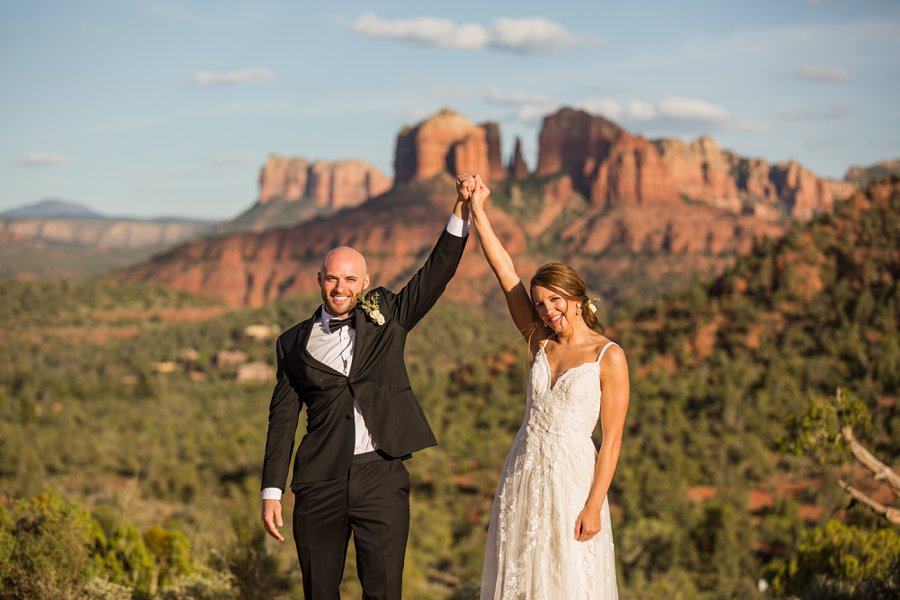 Holly and Erick - AZ Wedding Photographer Sedona - Joy