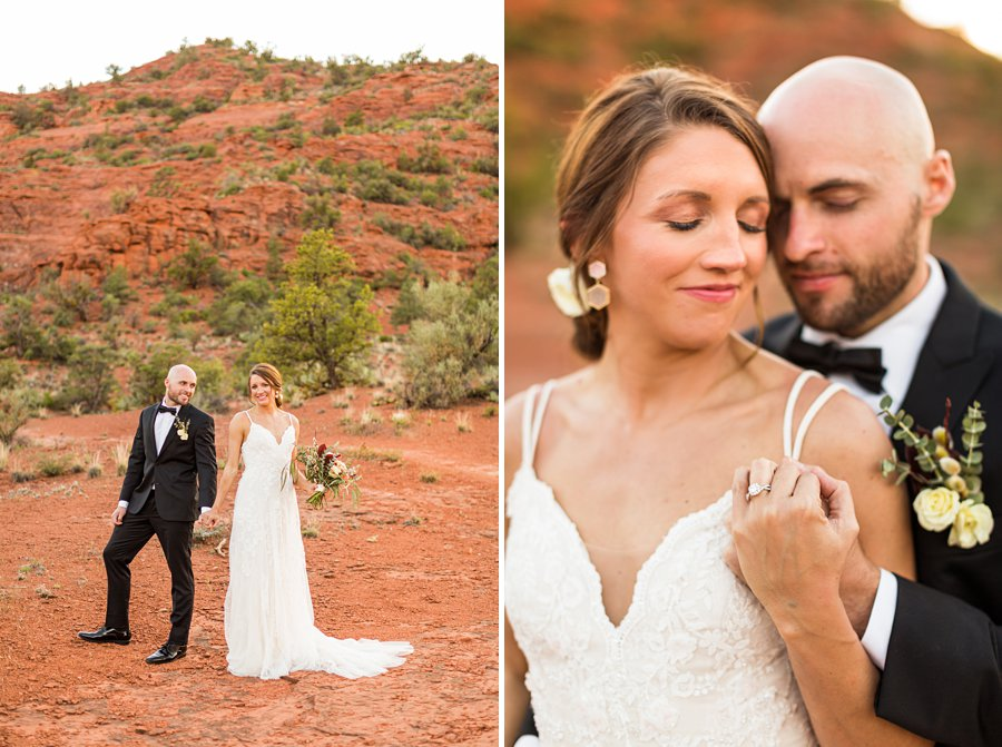Holly and Erick - Sedona Arizona Elopement Photography - Couple