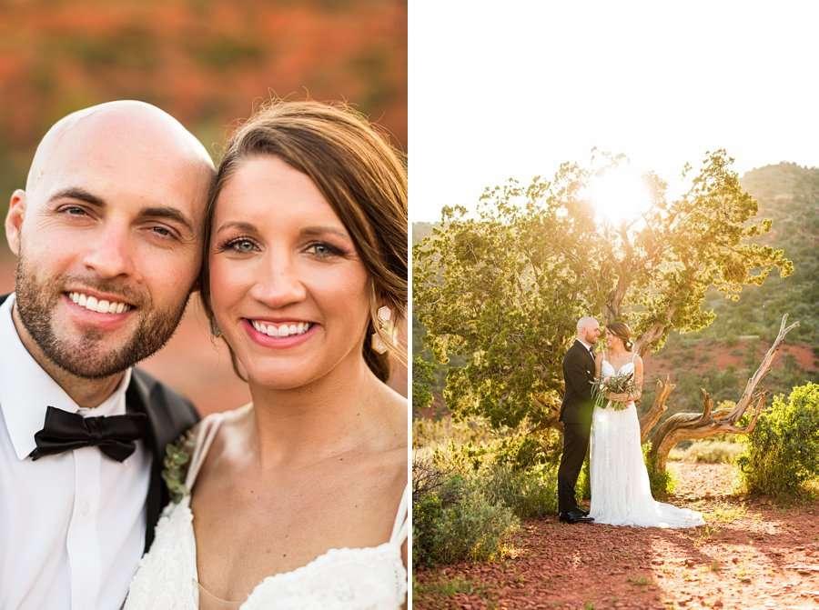 Holly and Erick - AZ Wedding Photographer Sedona - Couple