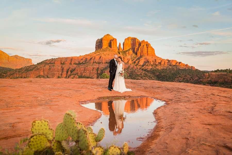 Holly and Erick - Sedona Arizona Elopement Photography - Sunset