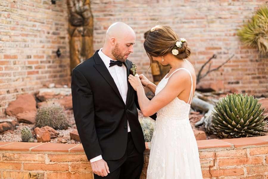Holly and Erick - Sedona Arizona Elopement Photography - Preparation