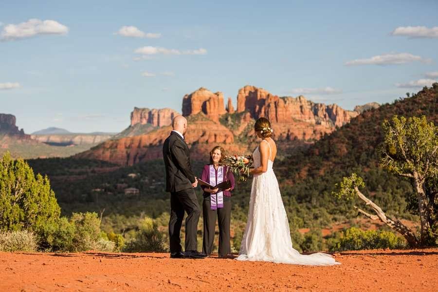 Holly and Erick - AZ Wedding Photographer Sedona - Vows
