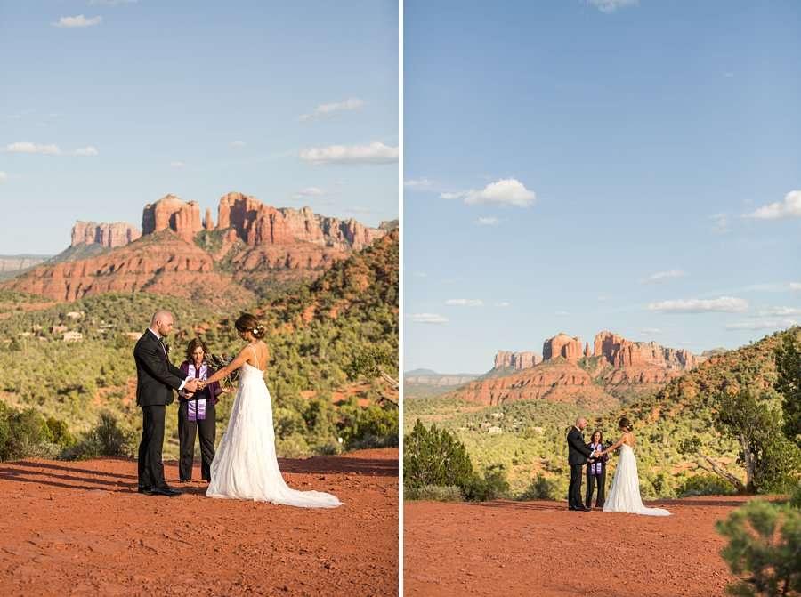 Holly and Erick - AZ Wedding Photographer Sedona - I Do