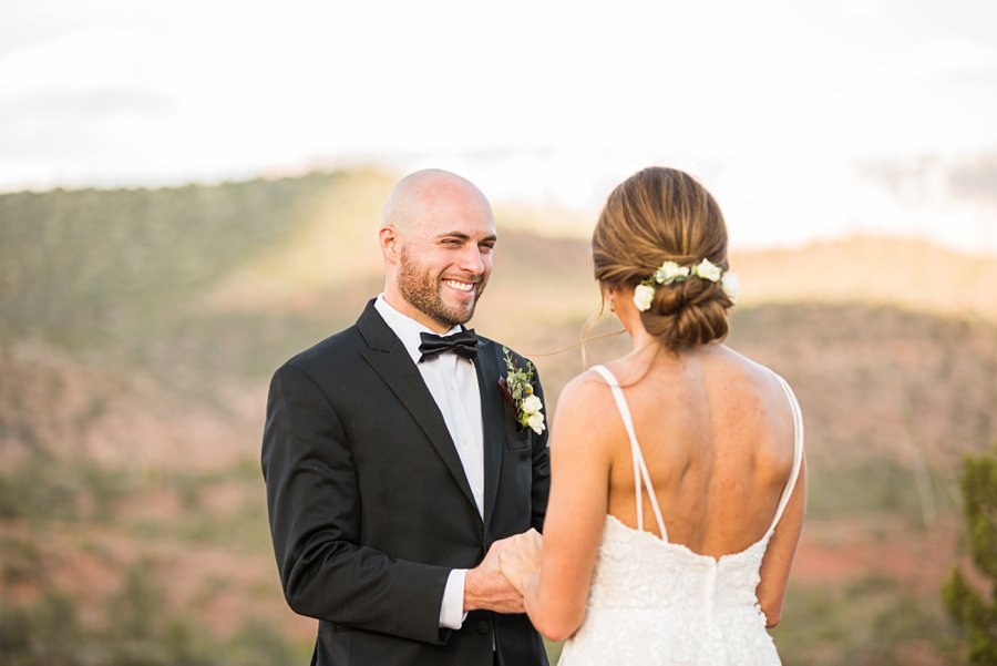 Holly and Erick - AZ Wedding Photographer Sedona - Smiles